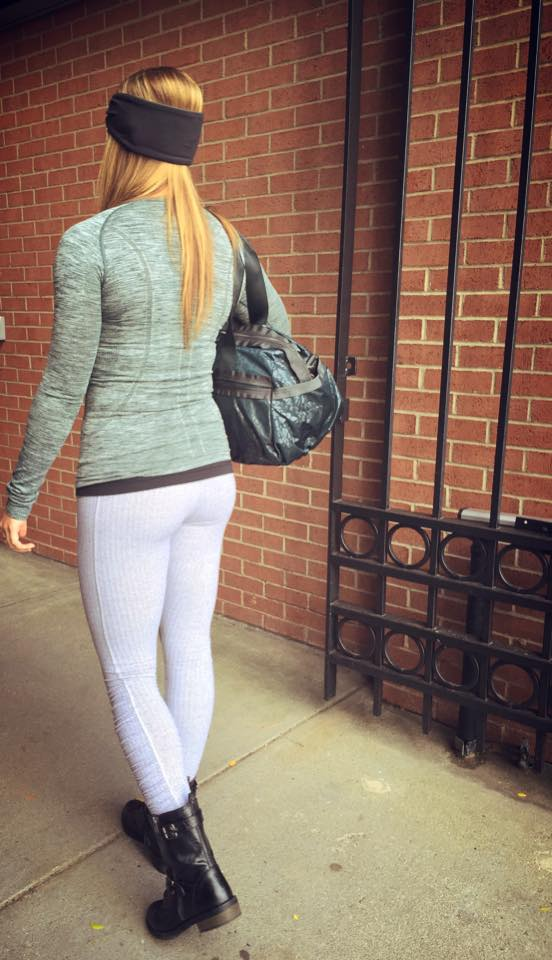 lululemon fuel green swiftly ls herringbone-turn-around-tight