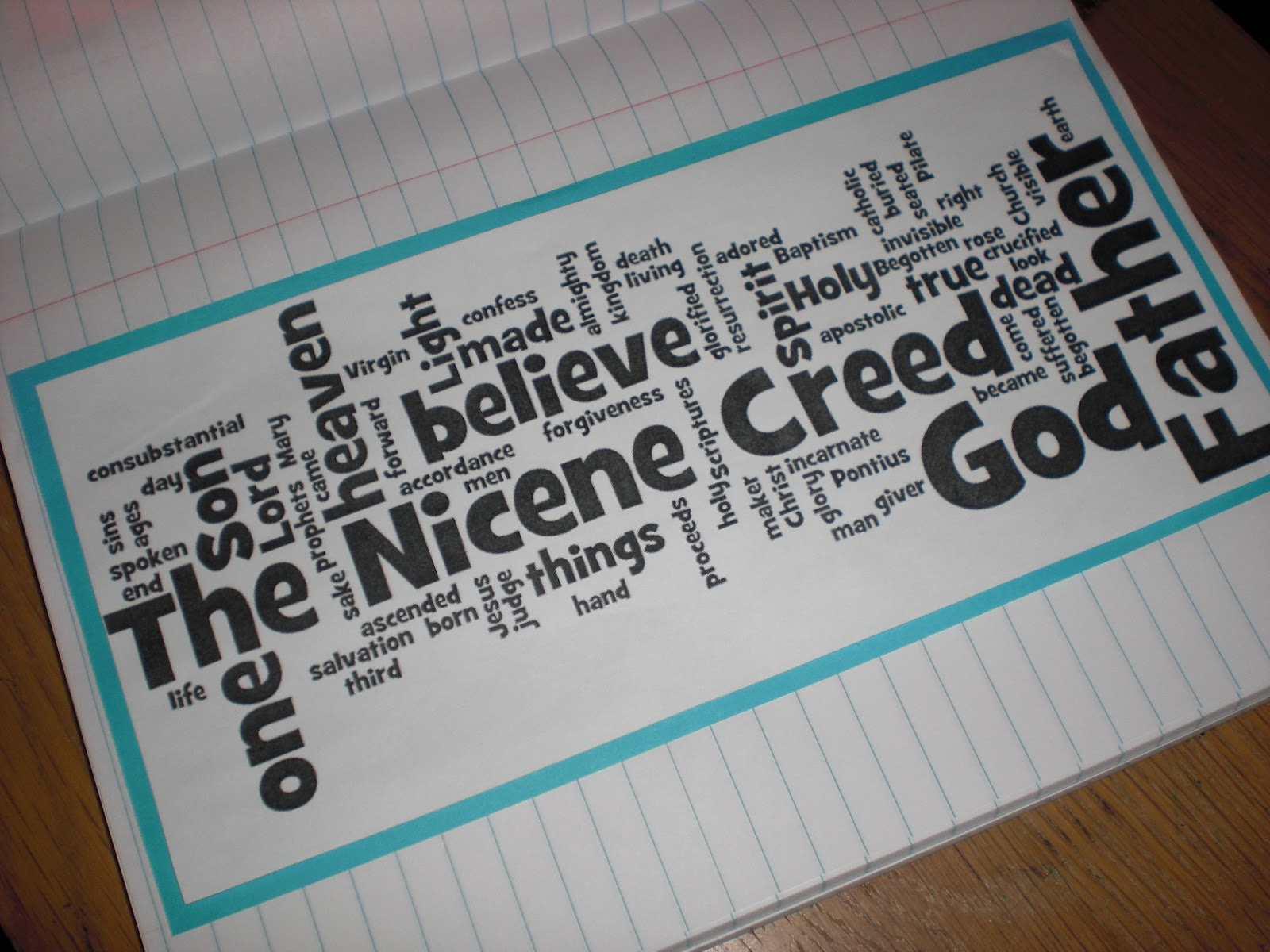 Look To Him And Be Radiant The Creed Amp Notebooking