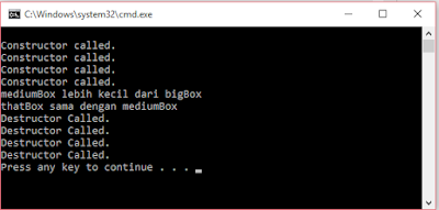 Operator Overloading Pada C++