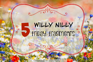 Five Willy Nilly Friday Fragments image