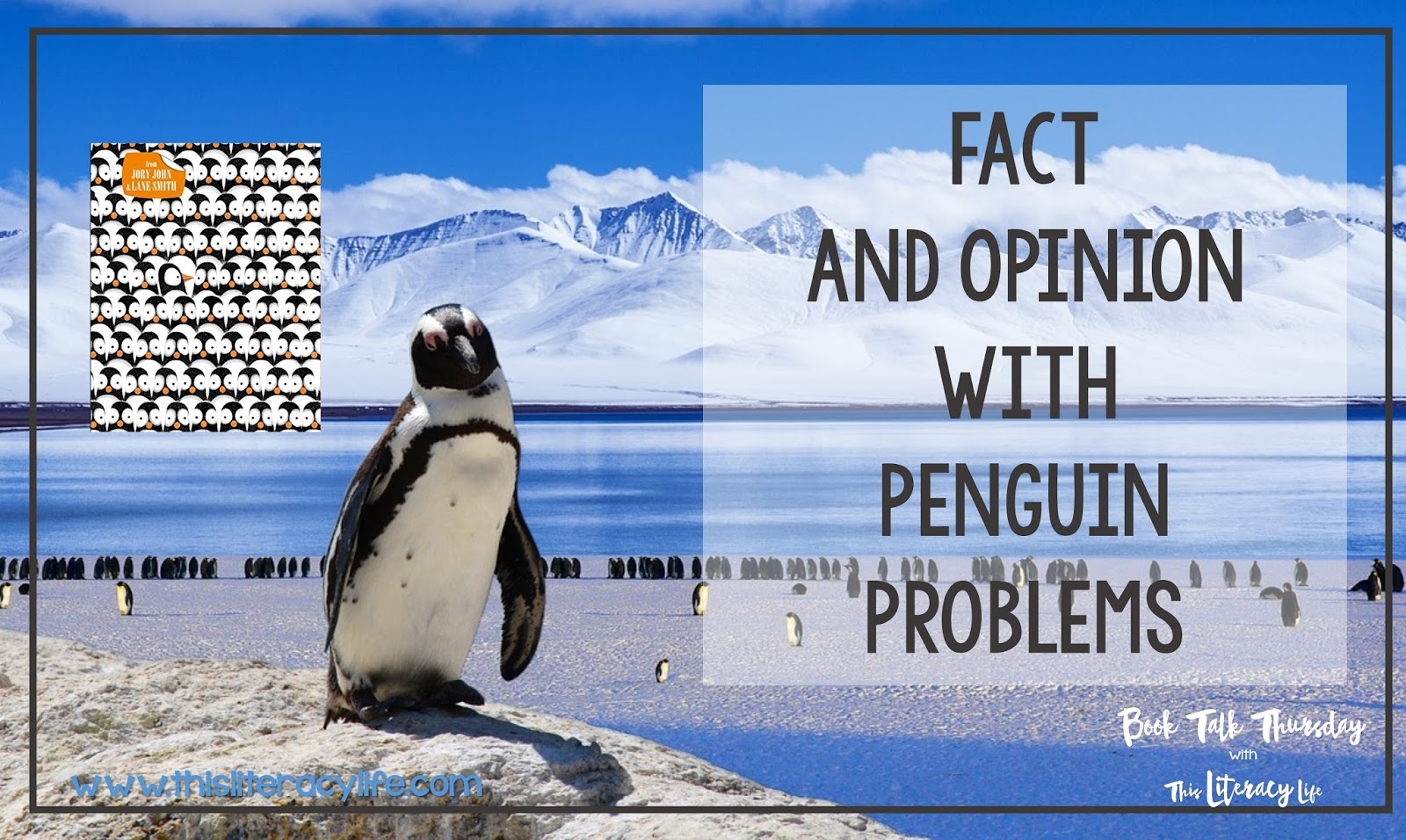 Fact and opinion can be tricky, and Penguin Problems is a perfect book for helping children understand this comprehension skill.