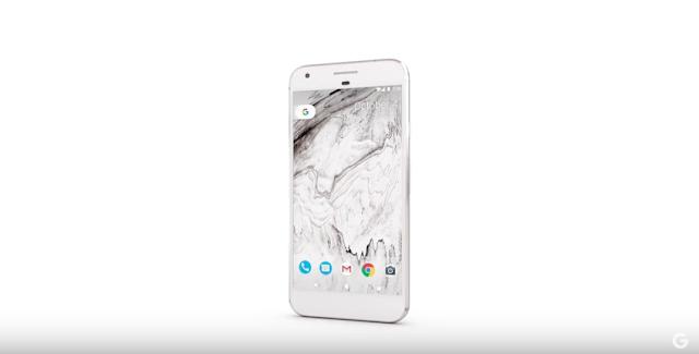 A tela inicial do Pixel tem uma grande diferença do iPhone