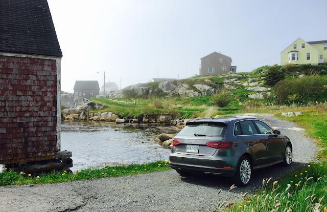 2016 Audi A3 etron Peggy's Cove