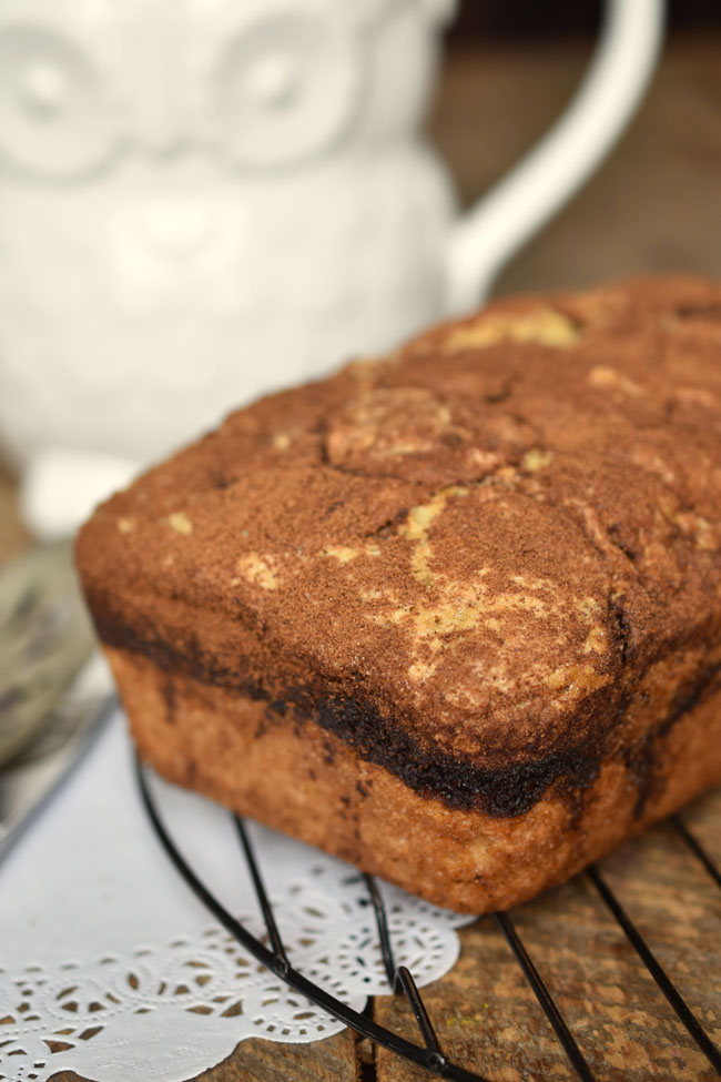 Cinnamon Toast Sweet Loaf (Vegan)