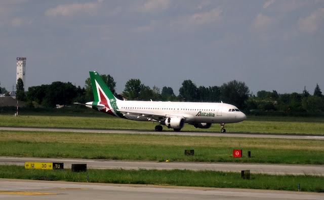 Alitalia in Bologna Airport