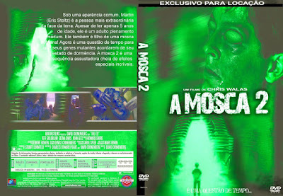 Filme A Mosca 2 (The Fly 2)  DVD Capa