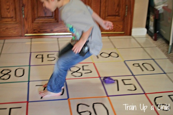 Number Names Worksheets skip counting activity : Gross Motor Activity to Practice Skip Counting ~ Learn Play Imagine