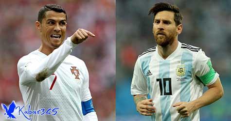 Klarifikasi Simeone Soal yang Lebih Hebat Antara Messi dan Ronaldo
