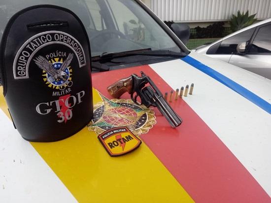 Homem compra arma pra se defender de ameaças , mas é preso pela PMDF em Ceilândia