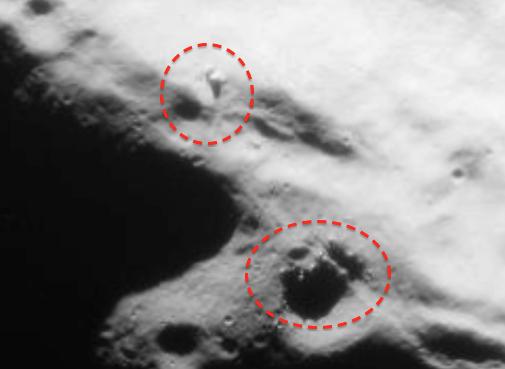 Eu Descobri Que A Solidão é O Grande Lua: UFO Near Estrangeiro Estrutura Na Lua Encontrado Em Apollo