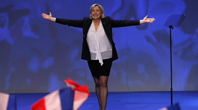 RESTORE FRANCE STANDING IN THE WHITE HOUSE, VOTE LE PEN
