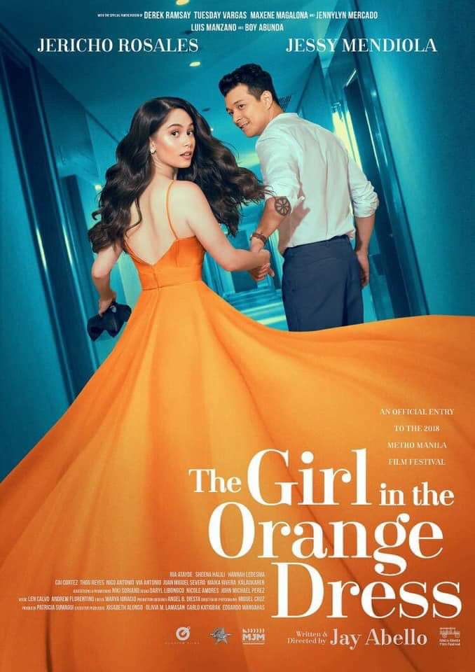 The Girl in the Orange Dress stars Jericho Rosales and Jessy Mendiola