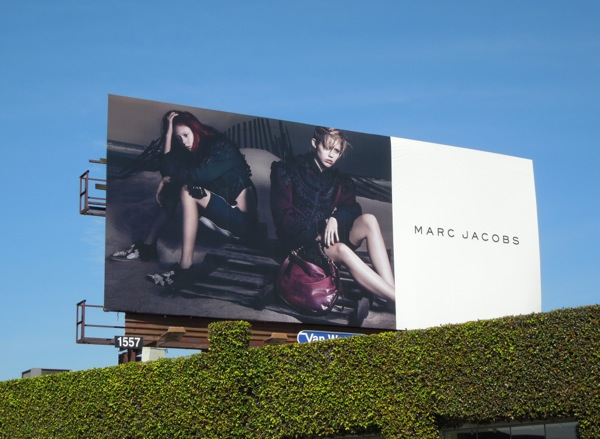 Miley Cyrus Marc Jacobs billboard Apr 14
