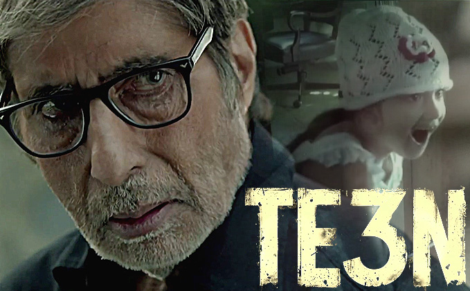 full cast and crew of bollywood movie Te3n 2016 wiki, Amitabh Bachchan, Nawazuddin Siddiqui and Vidya Balan story, budget, release date, Actress name poster, trailer, Photos, Wallapper, Te3n hit or flop