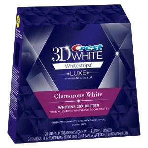Miếng dán trắng răng Crest 3D White Whitestrips Glamorous White