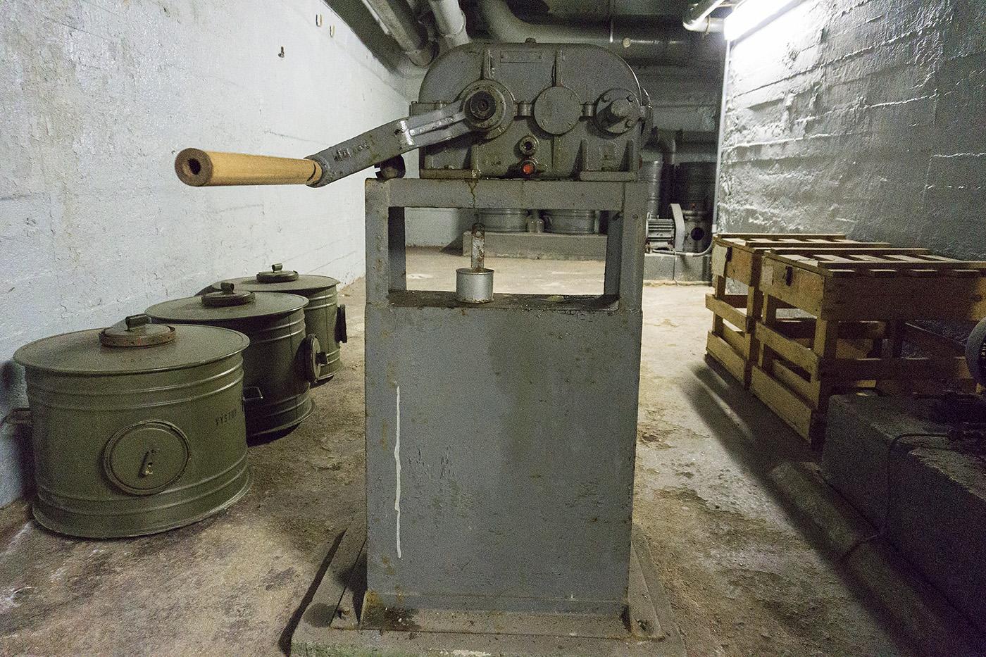 Prague, Czech Republic, Bomb Shelter, Bunker, Cold War