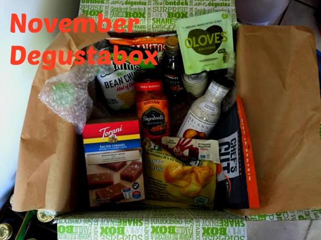 November Degustabox Treats