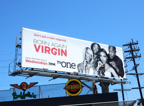 Born Again Virgin season 1 billboard