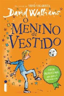 Capa do livro O Menino de Vestido