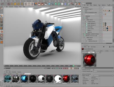 Cinema 4D (Software Desain Grafis Terbaik)