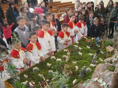 FOTO: Nevina Dječica - sv. misa i blagoslov djece