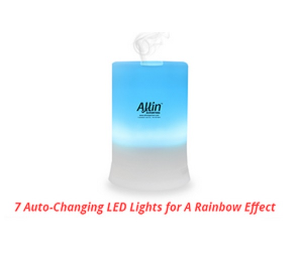Allin Exporters Ultrasonic Humidifer & Diffuser Features