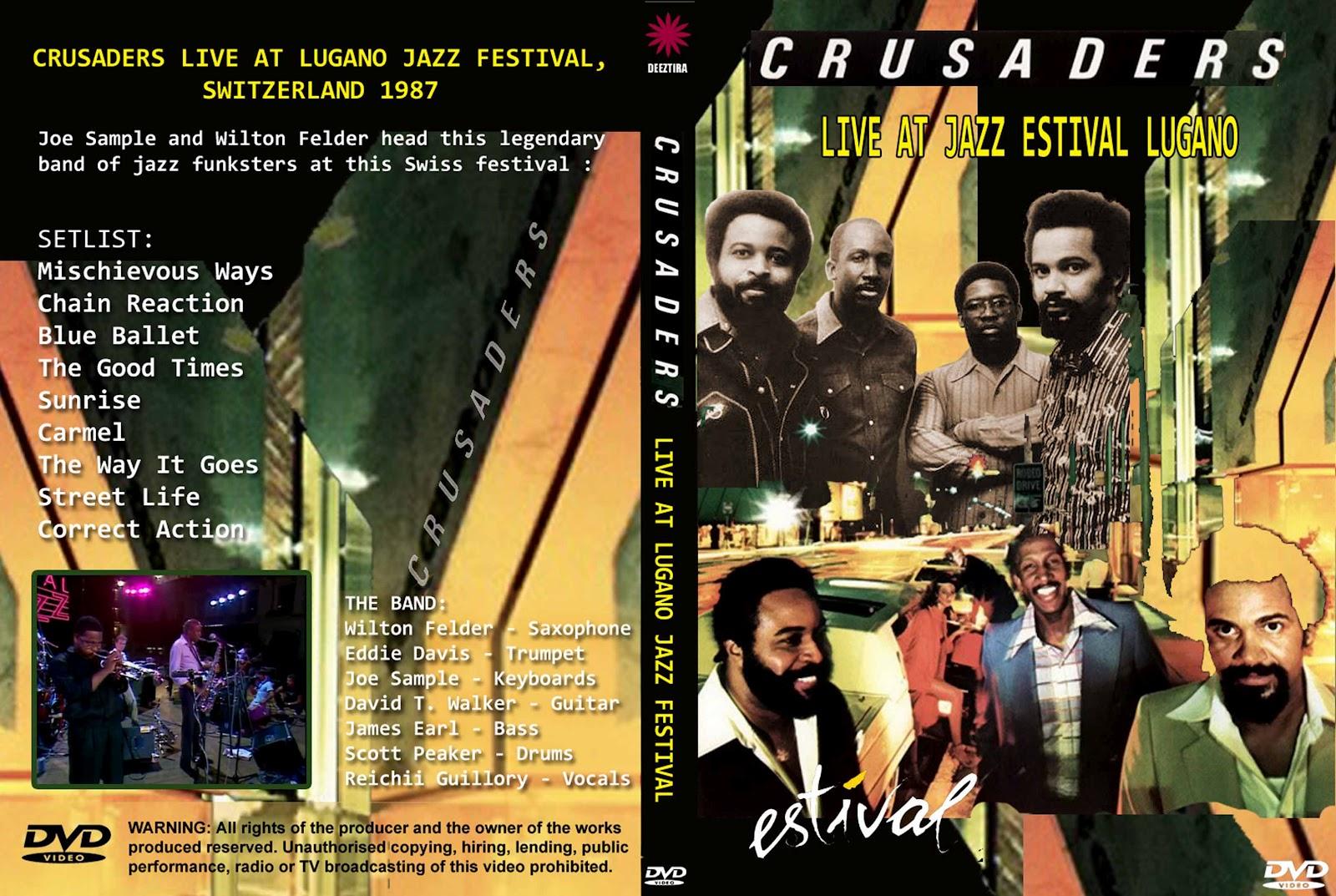 Youdiscoll Crusader Estival Jazz Lugano 1987