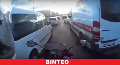 Απίστευτο περιστατικό στους δρόμους της Ρωσίας
