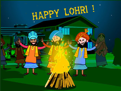 Happy Lohri 2017 Pictures