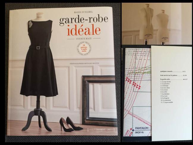 Très Idée couture la garde robe idéale avec 13 patrons Bettinael  DK87