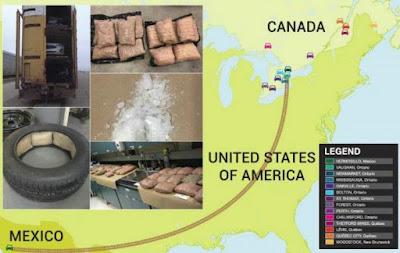 Incautan en Canadá más de 100 kg de droga ocultos en autos ensamblados en Hermosillo