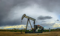 An oil well in Colorado. (Credit: C.L. Baker/flickr) Click to Enlarge.