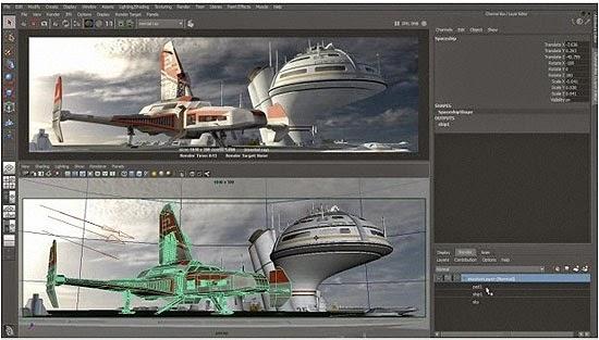 AutoDesk Maya 3D