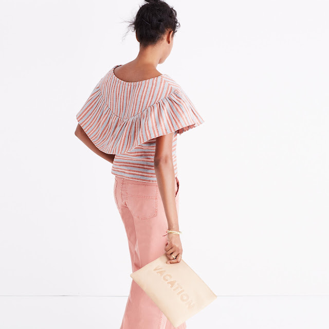 Ace & Jig Clifton Top in Dune - Madewell Exclusive