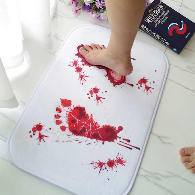 Fashionable bathroom rug sets and bath mats 2018