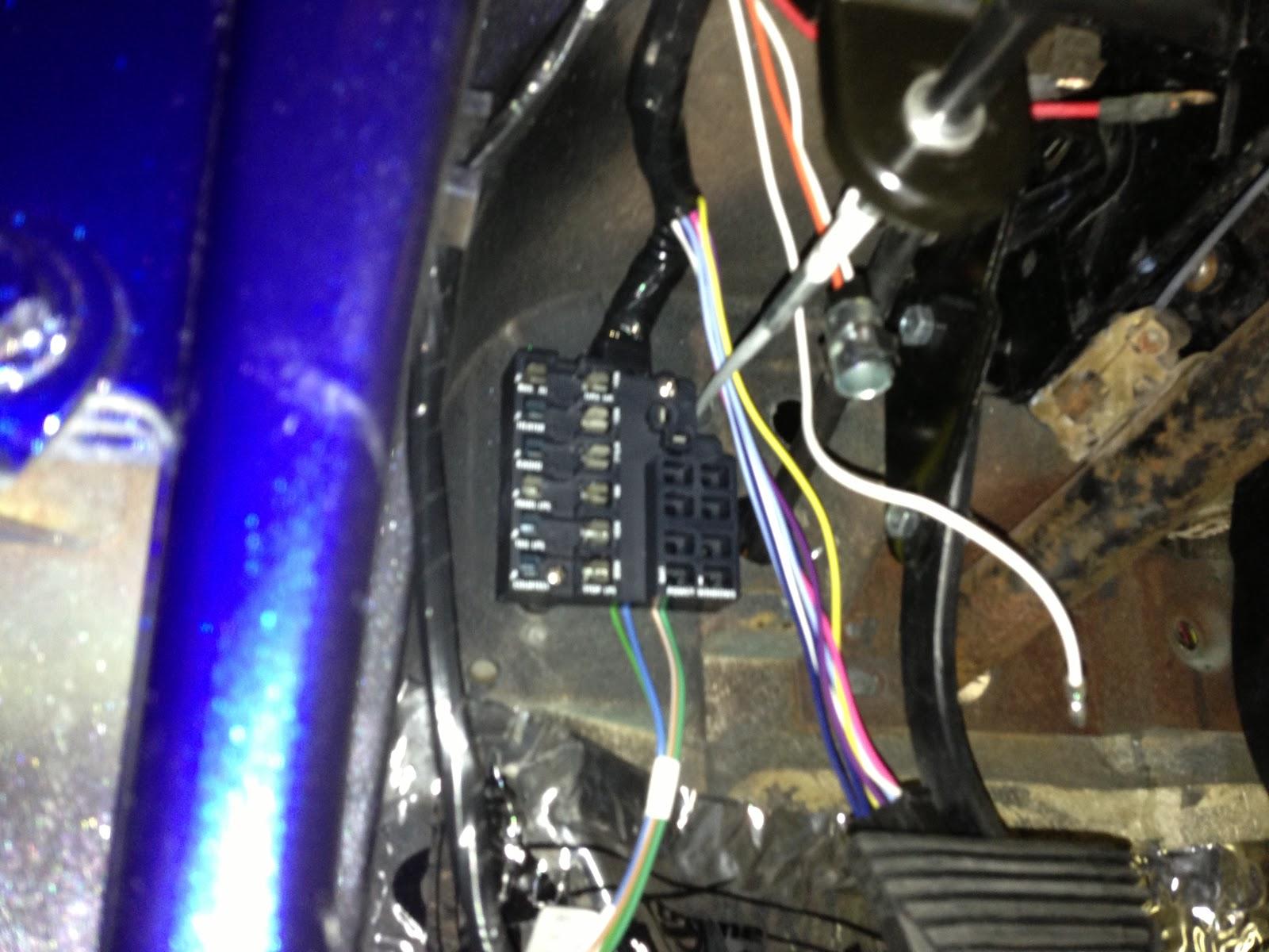Corvette Fuse Box Diagram Wiring Harness Wiring Diagram Wiring