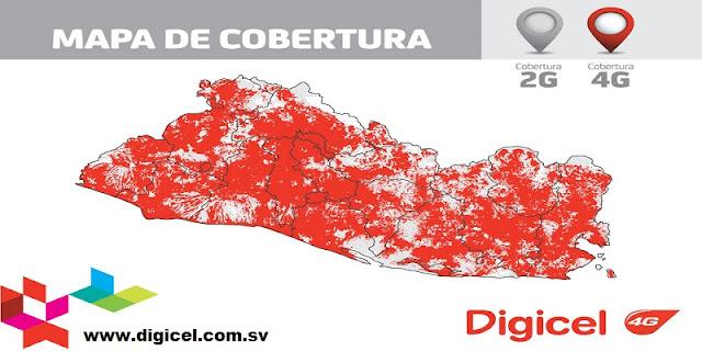 Cobertura Satelital y Proveedores de Telefonía en El Salvador