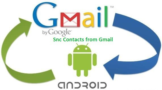 Contacts backup through google contacts
