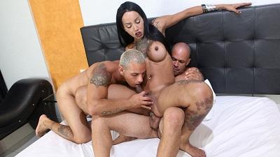 Braziltgirls.xxx – Thays Tavares & Marcus & Junior