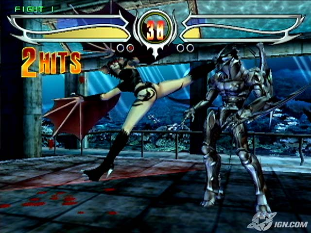 Bloody Roar 4 PS2 GAME ISO Gameplay 1