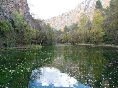 Lago del Espejo, Monasterio de Piedra, Zaragoza