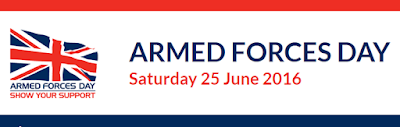 Armed Forces Day Saturday 25 June 2016