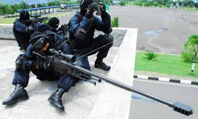 Polisi Siap Tembak di Tempat Bagi Pengacau Pemilu