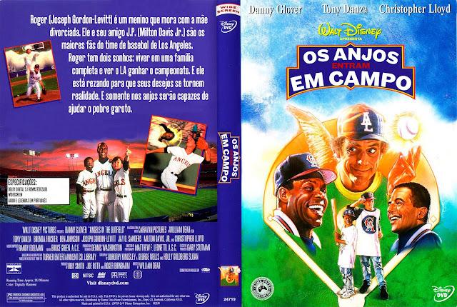 Capa DVD Os Anjos Entram Em Campo [Exclusiva]