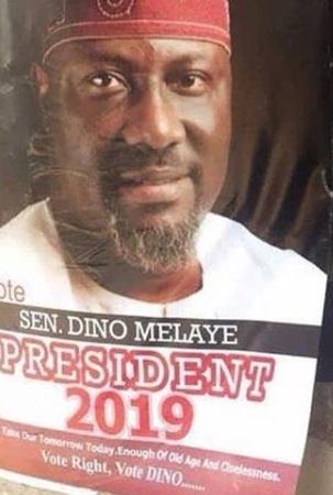Dino Melaye 2019 presidential poster