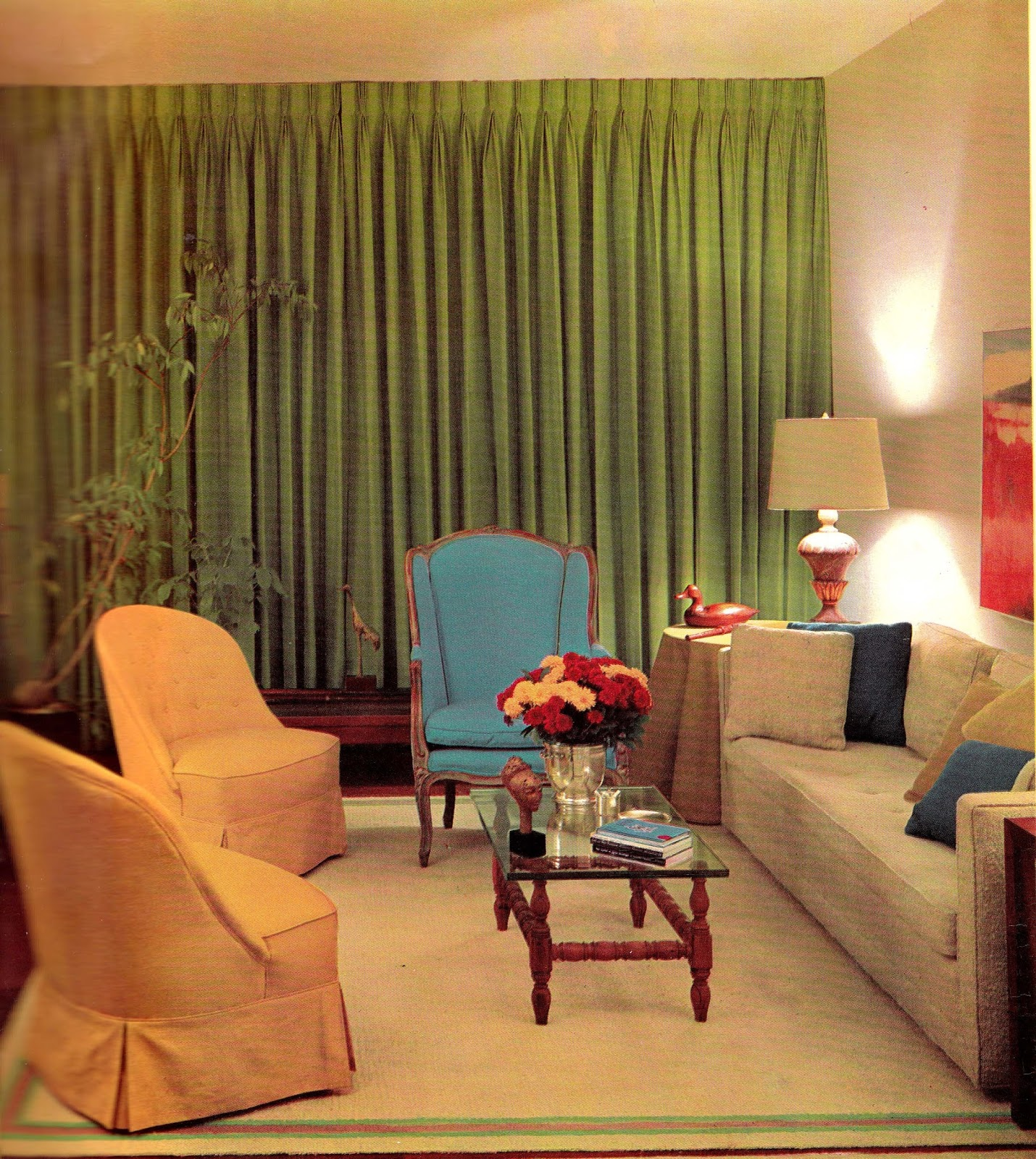 1960s Interior Décor: The Decade Of Psychedelia Gave Rise