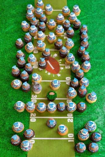 The Boston Foodie Caking Up Your Super Bowl Party