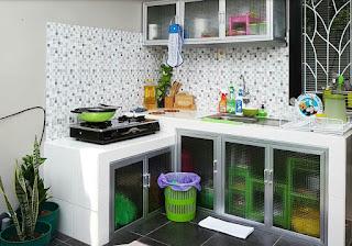 Dapur Berkonsep Semi Outdoor yang Minimalis dan Inspiratif