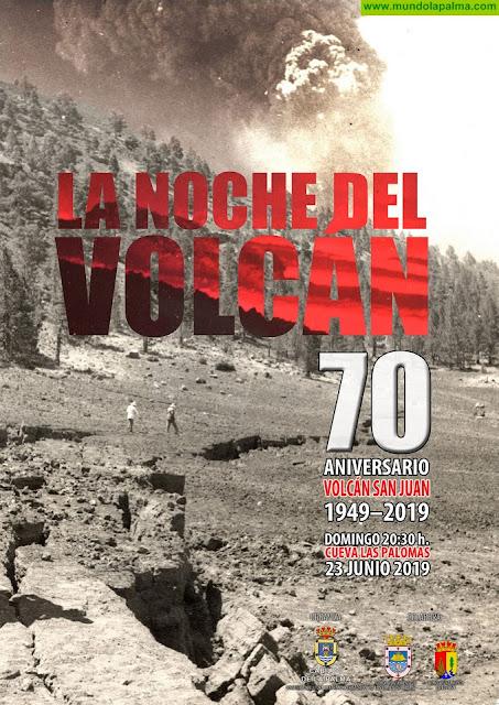 El Cabildo organiza en Las Manchas un acto que conmemora la erupción del volcán de San Juan hace 70 años
