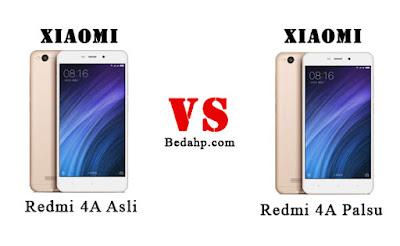 Cara Membedakan Xiaomi Redmi 4A Asli dan Replika